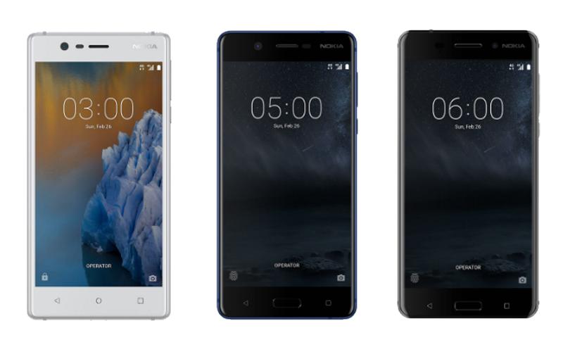 Nokia 3, Nokia 5 और Nokia 6 को 2017 के आखिर तक  मिलेगा एंड्रॉयड 8.0 ओरियो अपडेट