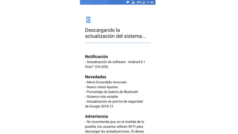 nokia 3 android 8 1 oreo update screenshot nokiacamp Nokia 3