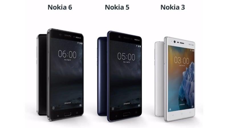 Nokia 6, Nokia 5 और Nokia 3 आज होंगे भारत में लॉन्च