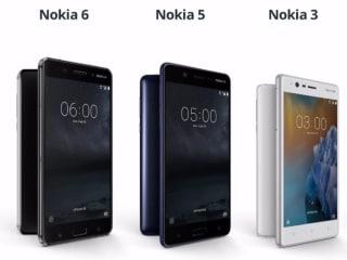 Nokia 6, Nokia 5 व Nokia 3 स्मार्टफोन 13 जून को भारत में होंगे लॉन्च