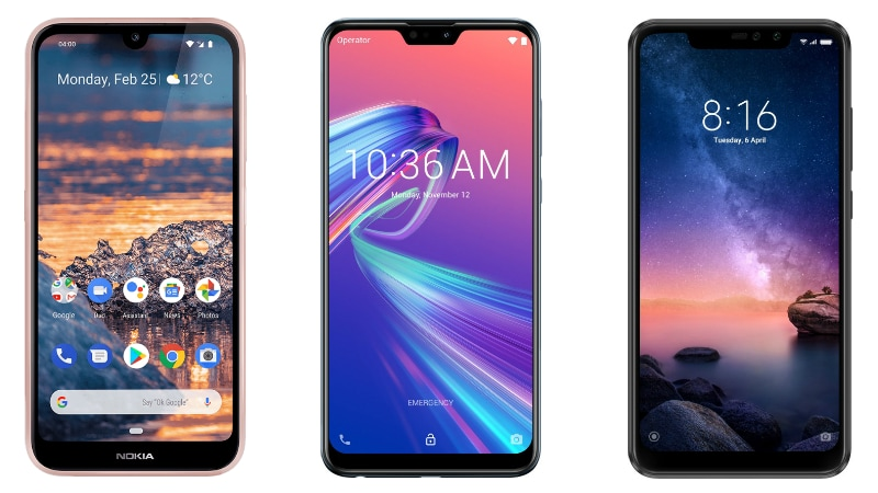 Nokia 4.2 vs Asus ZenFone Max Pro M2 vs Redmi Note 6 Pro: Price, Specifications Compared