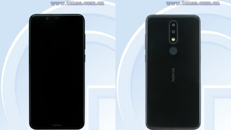 Nokia 5.1 Plus Specifications, Design Leaked on TENAA Certification Site