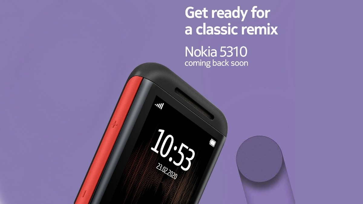 Nokia 5310 Feature Phone Teased to Launch in India Soon