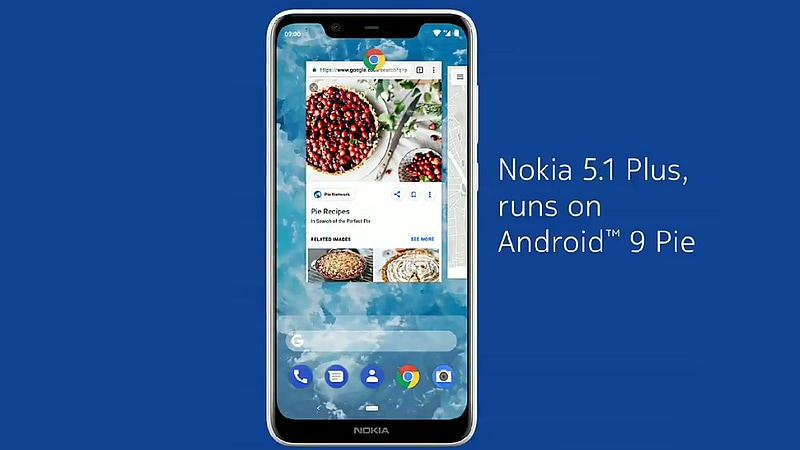 Nokia 5.1 Plus Starts Receiving Its Android 9.0 Pie Update, HMD Global Confirms