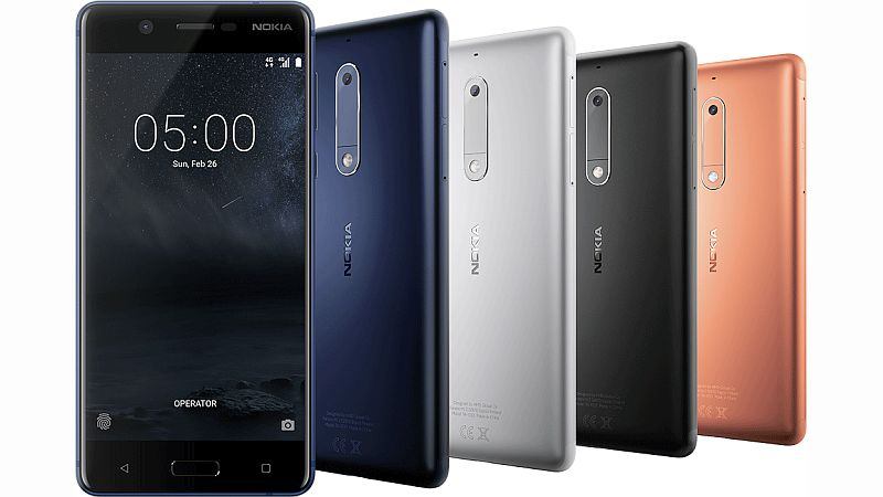 Nokia 3, Nokia 5 Android Phones Launched at MWC 2017: Price, Release Date, Specifications, and More