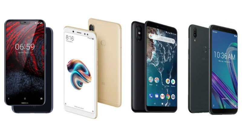 Nokia 6.1 Plus vs Redmi Note 5 Pro vs Xiaomi Mi A2 vs Asus ZenFone Max Pro M1: Price in India, Specifications Compared
