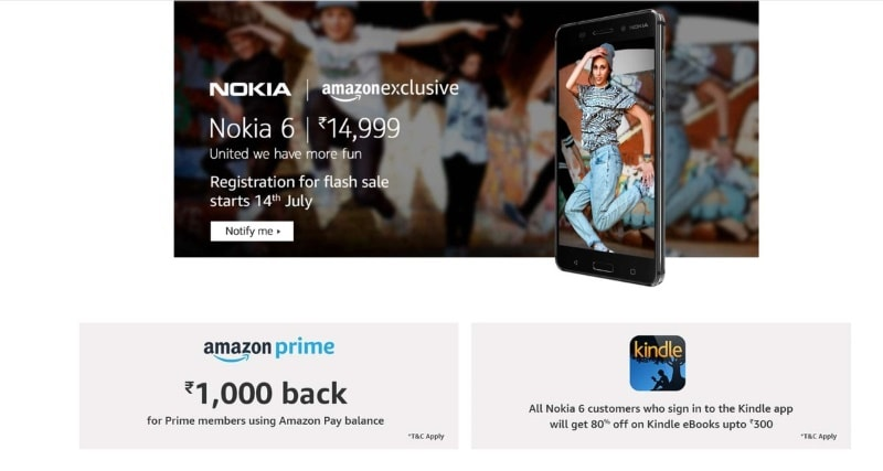 nokia 6 amazon price Nokia 6