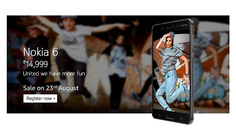Nokia 6 India Release Date Confirmed; Registrations for First Sale Now Open on Amazon