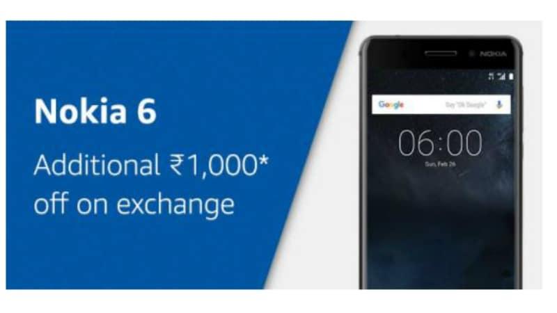 nokia 6 cashback amazon inline Nokia 6 Amazon Cashback