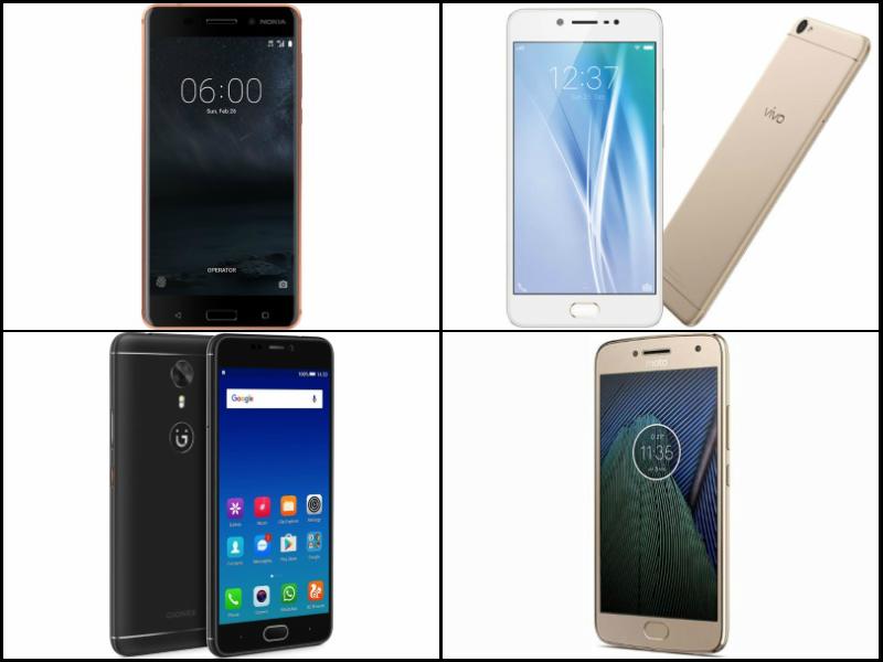 Nokia 6 vs Vivo V5 vs Gionee A1 vs Moto G5 Plus: Price and Specifications Compared