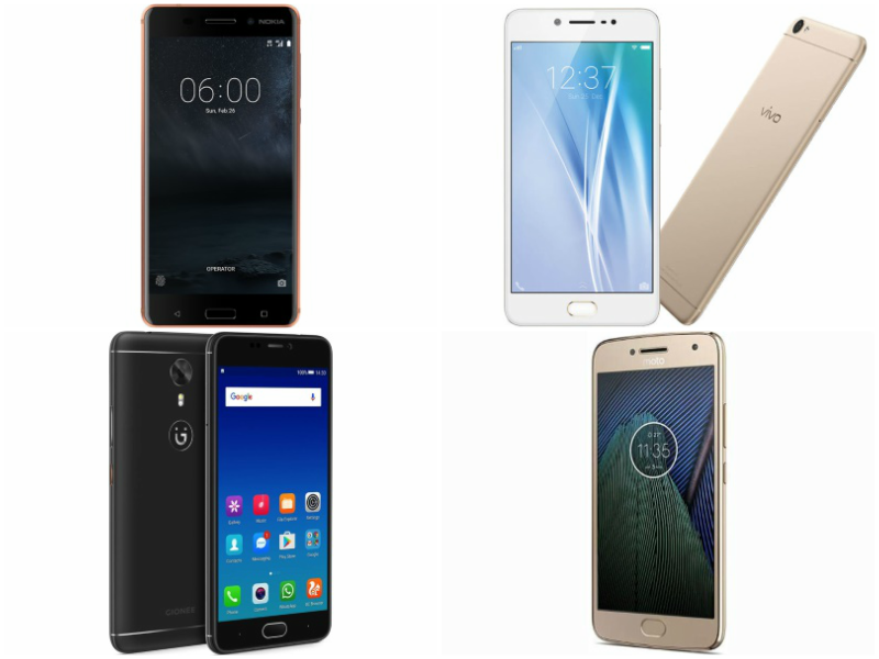 Nokia 6 vs Vivo V5 vs Gionee A1 vs Moto G5 Plus: Price and Specifications Compared
