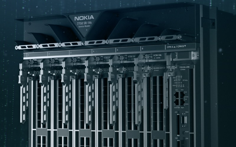 Nokia launches world's fastest network chips used for routers