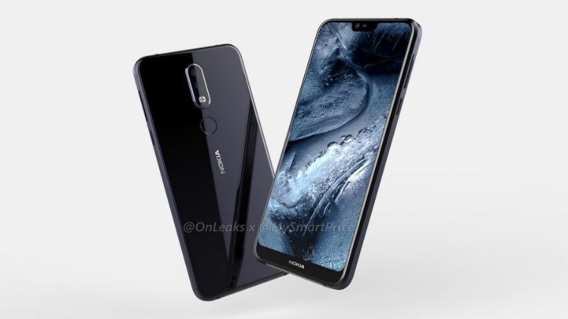 Nokia 7.1 Plus Leaked Renders Show Dual Rear Camera Setup; Live Image Showing Its Back Surfaces Too