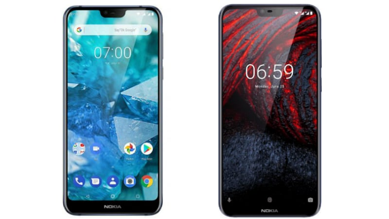 quality design 7117f 17c55 Nokia 7.1 vs Nokia 6.1 Plus: What's New and Different | NDTV ...