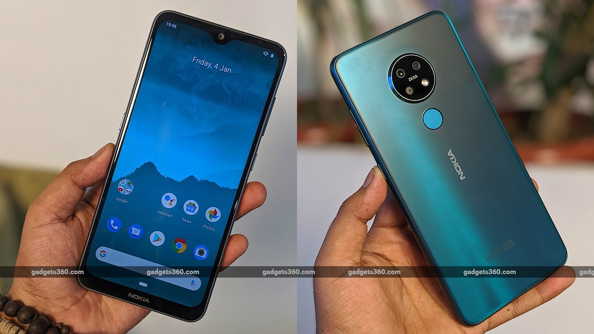 Nokia 7.2, Nokia 6.2 With 3,500mAh Battery, Triple Rear Cameras Launched: Price, Specifications