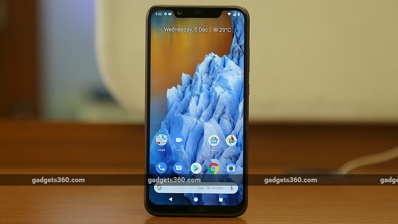 Nokia 8.1 With 6.18-Inch HDR Display, Dual Rear Cameras Launched in India: Price, Specifications