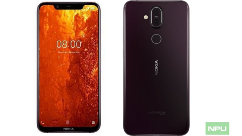 Image result for Nokia 8.1 pic