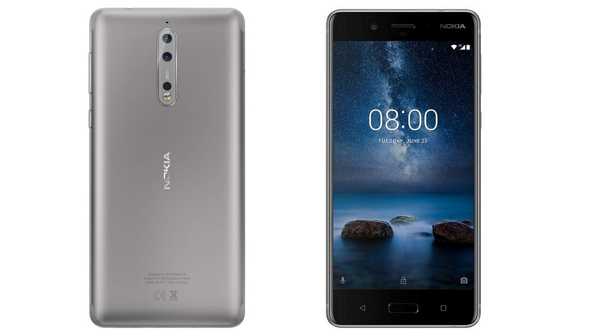 Nokia 8 Starts Receiving New Software Update in India with April Android Security Patch: Report