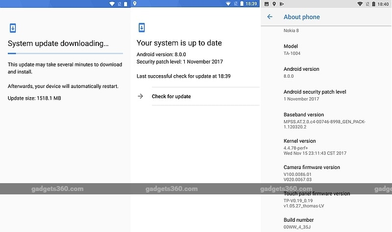 Sony Xperia XZ and Xperia XZs receiving Android 8.0 Oreo update