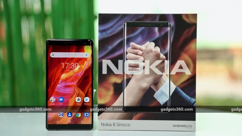 Nokia 8 Sirocco Launched in India at Rs. 49,999, Release Date Is April 30