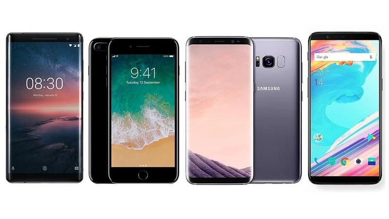Nokia 8 sirocco vs iphone 8