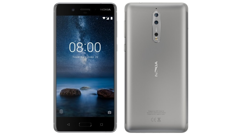 Nokia 8 Silver Colour Variant Leaked