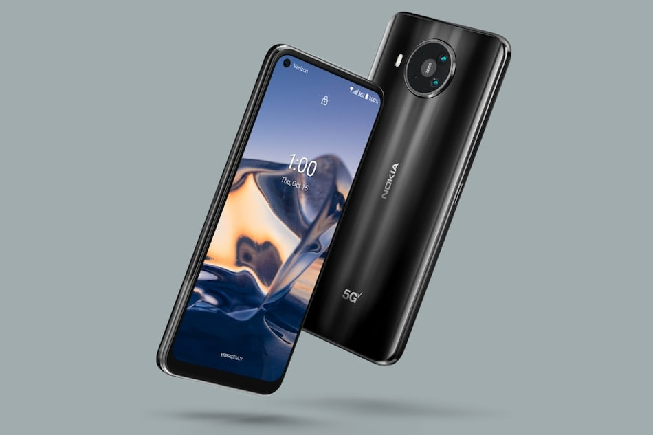 Nokia 8 V 5G UW With Snapdragon 765G SoC, Quad Rear Cameras Launched for Verizon: Price, Specifications