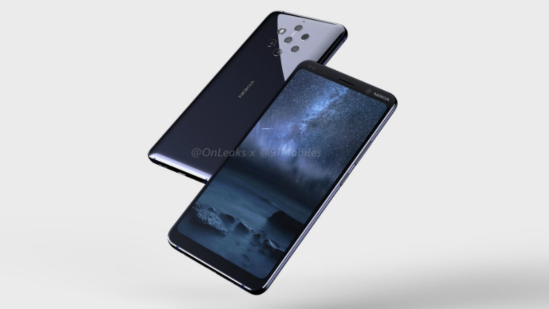 Nokia 9 Renders, 360-Degree Video Show Penta-Camera Setup, Notch-Less Display