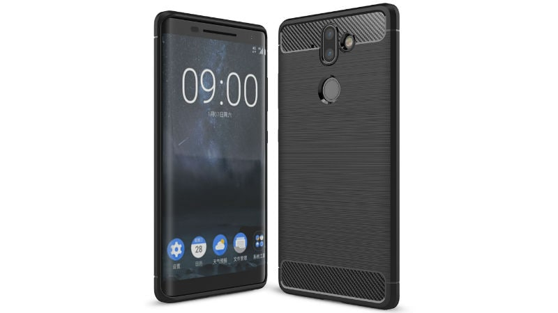 Nokia 9 Protective Case Listed Online, Tips Curved-Glass Display