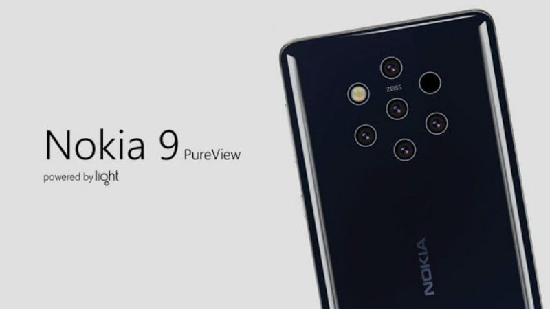 Nokia 9 PureView 'Olympic' Penta-Lens Camera Smartphone Spotted Running Android 9 Pie