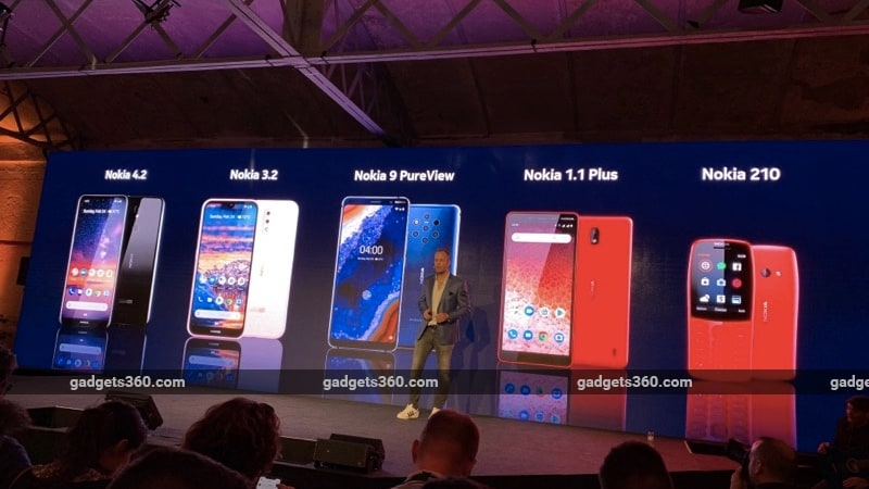 Nokia 9 PureView, Nokia 3.2, Nokia 4.2, Nokia 210, Nokia 1 Plus Announced at MWC 2019: Check Price, Specs