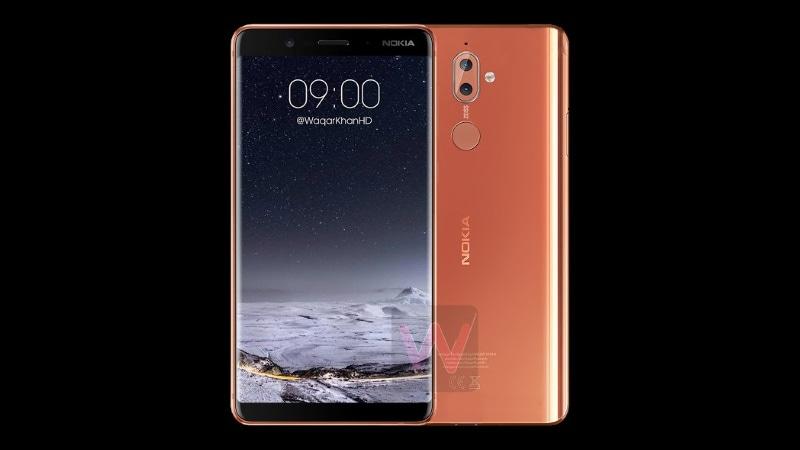 Nokia 9 Leaked Renders Show Smartphone's Bezel-Less Design, Nokia 2 Appears Alongside