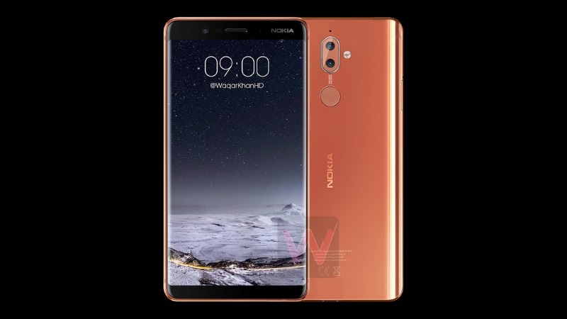 Nokia 9 Leaked Renders Show Smartphone's Bezel-Less Design, Nokia 2 Appears Alongside