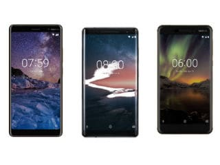 Nokia 8 Sirocco, Nokia 7 Plus, Nokia 6 (2018) Available With Airtel Financing on Postpaid Plans