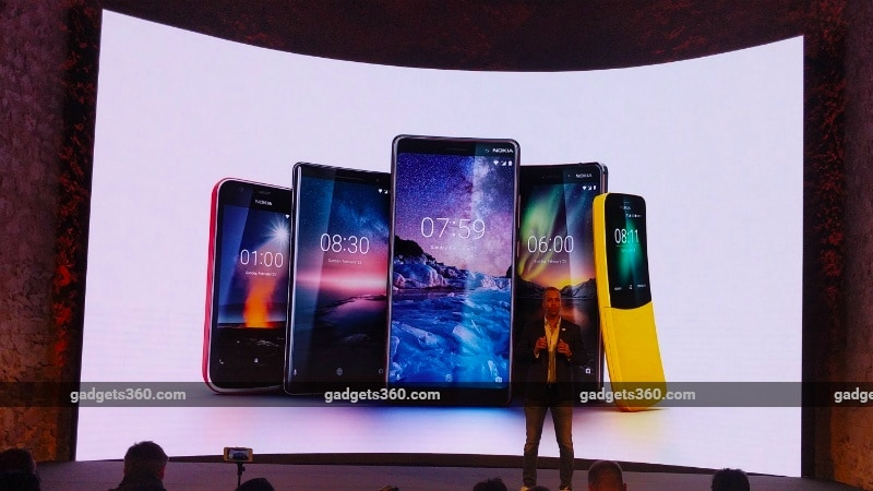 Nokia 8 Sirocco, Nokia 7 Plus, Nokia 6 (2018), Nokia 1, Nokia 8110 4G India Launch Date Revealed