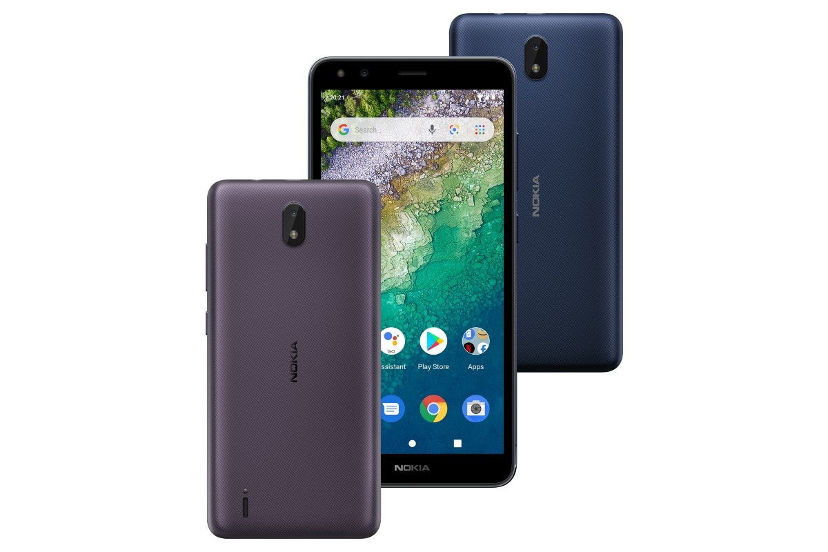 Nokia C01 Plus With Android 11 (Go Edition), Selfie Flash Launched: Price, Specifications - Gadgets 360 thumbnail