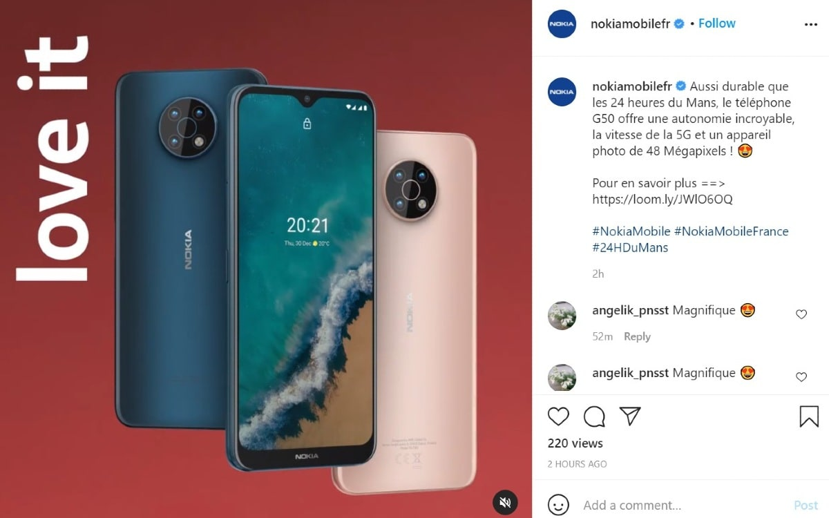 nokia g50 instagram post image nokiamob net Nokia G50