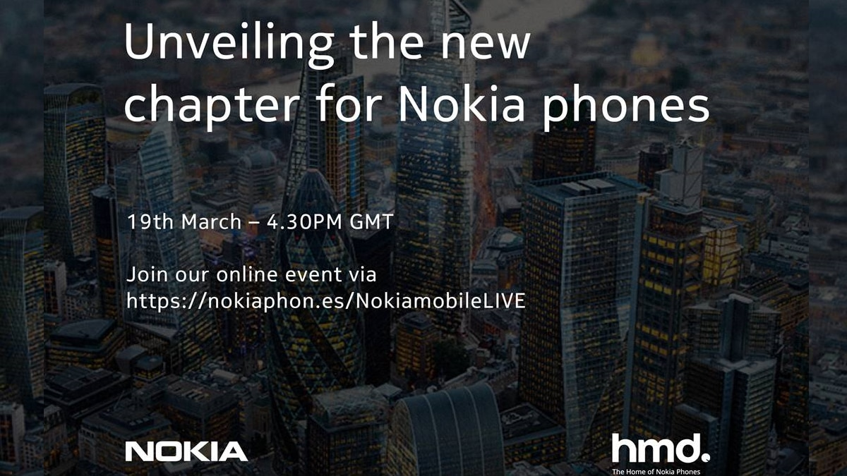 Nokia March 19 Launch Event Will Be Online-Only, HMD Global Reveals: All You Need to Know
