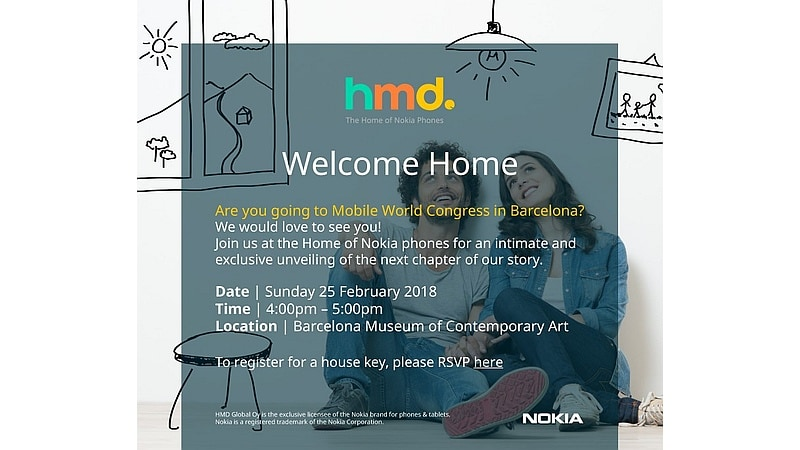 nokia mwc 2018 invite hmd global Nokia Invite HMD Global