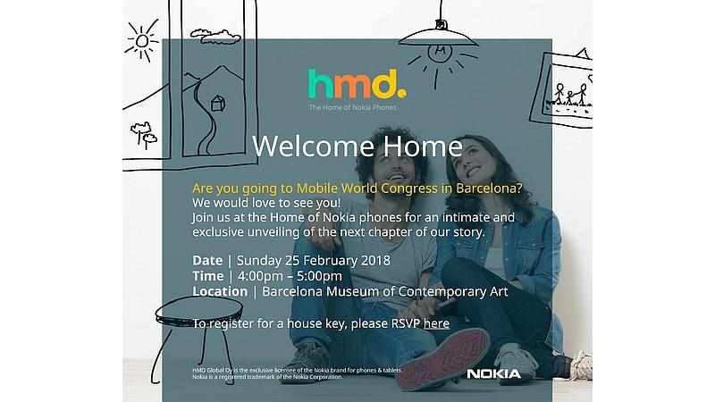 nokia mwc 2018 invite hmd global Nokia Invite HMD Global
