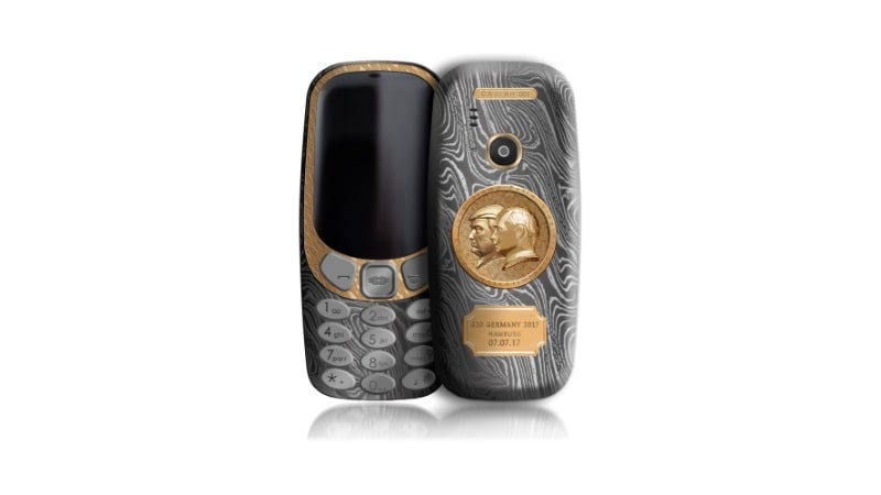 This Nokia 3310 is a homage to BFFs Trump and Putin