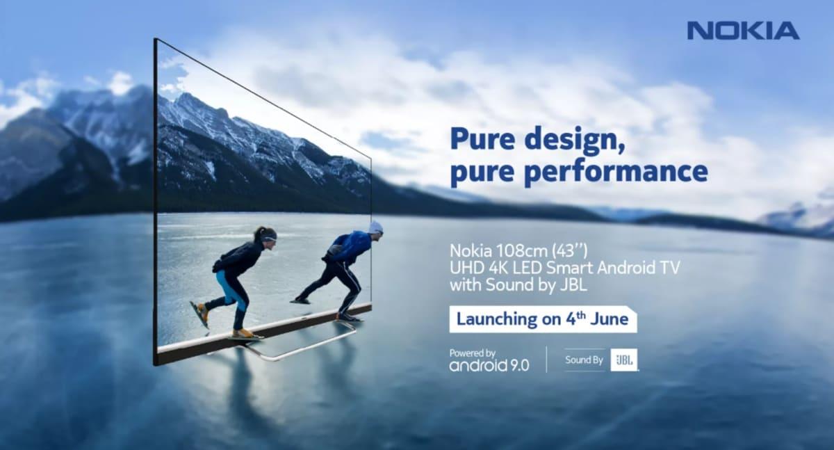 Nokia Smart TV 43-इंच मॉडल भारत में आज होगा लॉन्च, ये होंगी खासियतें