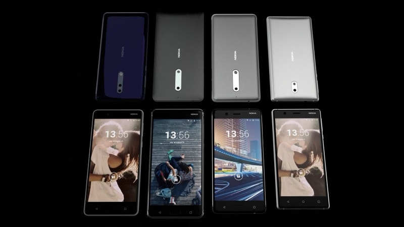 Nokia 8, Nokia 9 Processors Leaked; Nokia 2 Budget Phone Seemingly in the Works