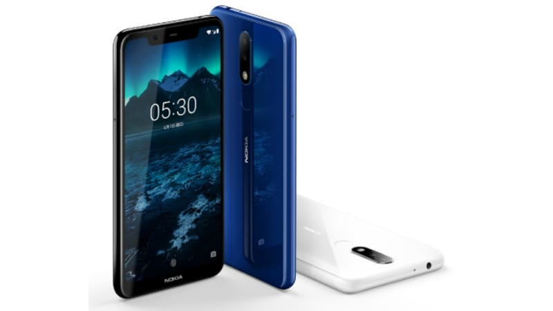 Nokia X5 With Display Notch, Dual Rear Cameras Launched: Price, Specifications
