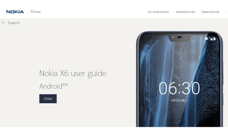Nokia X6 India Support Page Goes Live, Tipping Imminent Launch