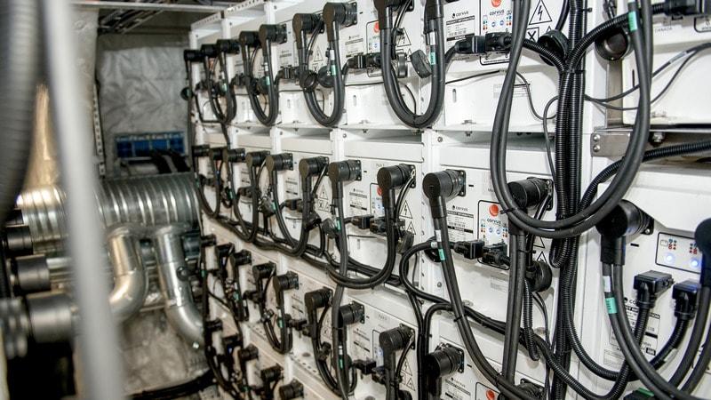 norway ferries batteries full Ferry Batteries