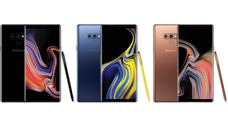 Samsung Galaxy Note 9 Leaked in Fresh Renders Ahead of Launch