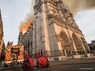 Notre Dame Was Built by Craftsmen Eight Centuries Ago, Now It May Be Up to Robots to Save It