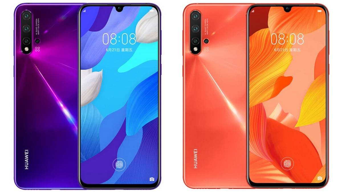 Huawei Nova 5 Series Teaser Tips Bright Colour Options