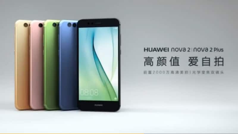 Huawei Intros Nova 2 & Nova 2 Plus With 4GB Of RAM, Nougat